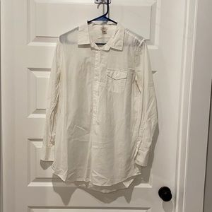 J. Crew Tunic Shirt - Medium
